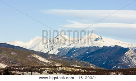 The Rockies Mountains near Frisco, Colorado, USA