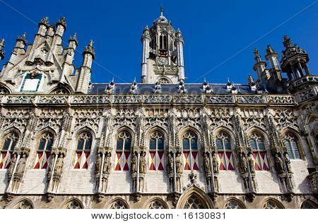 town hall, Middelburg, Zeeland, Netherlands