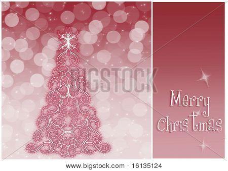 elegante fundo de Natal com enfeites (fundo atrás do painel está completo)