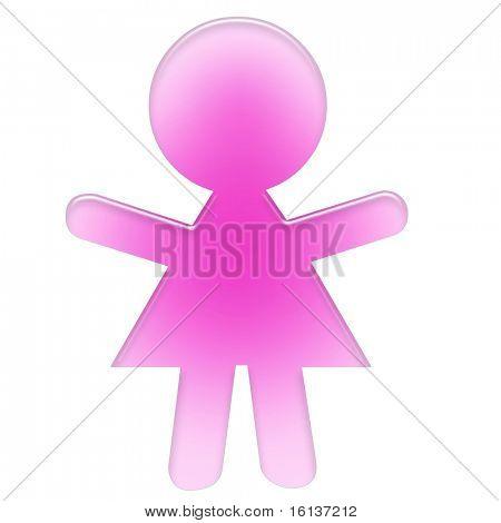 icono de la mujer