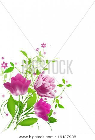 Spring flowers for Mother's day