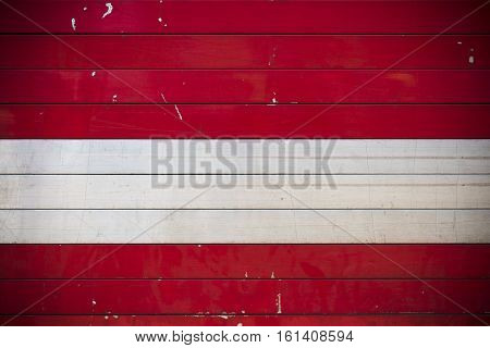 Red steel roller shutter door,Grunge Garage Door,Container background texture.