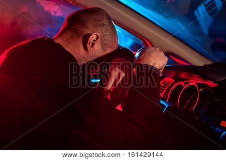 Driver Is Caught Driving Under Alcohol Influence