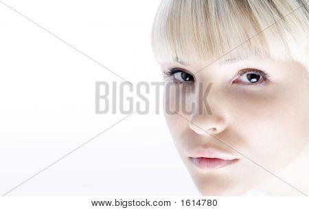 Light Fashionable Portrait