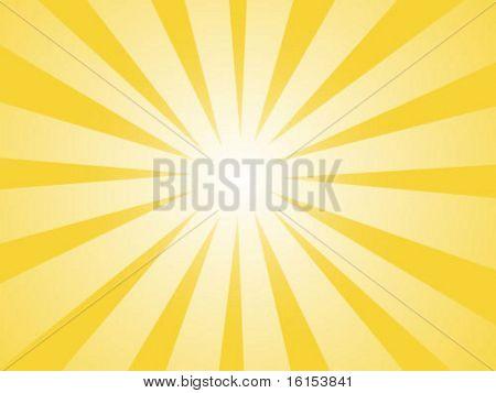 Sunbeam texture - vector illustration