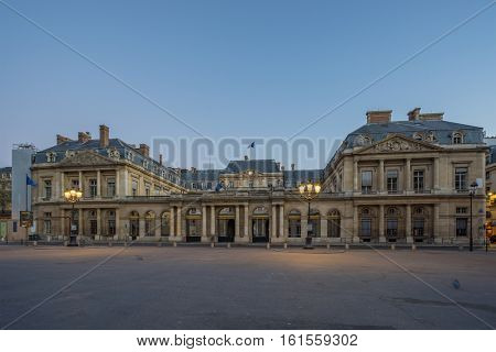 The Conseil d Etat (Council of State) is an administrative court of the French government