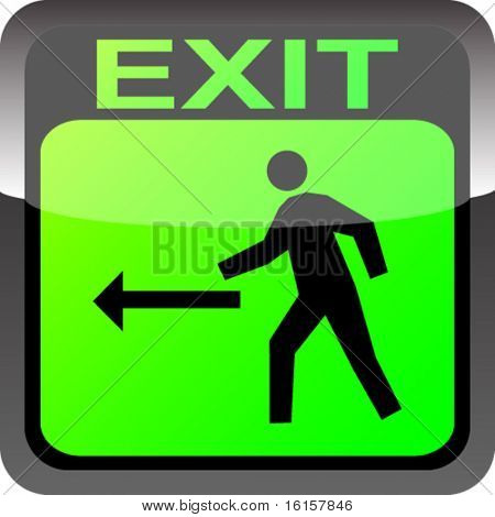 exit banner