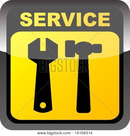 Botón de servicio
