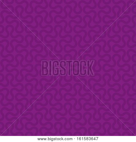 Purple Neutral Seamless Pattern for Modern Design in Flat Style. Tileable Geometric Vector Background.