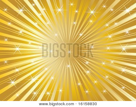 Sunbeam texture - vector illustration