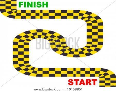 rally circuit illustration