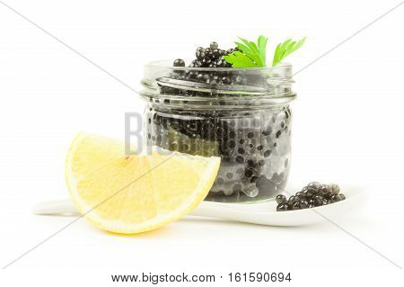 Black roe isolated on a white background cutout