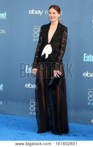 LOS ANGELES - DEC 11:  Michelle Monaghan at the 22nd Annual Critics' Choice Awards at Barker Hanger on December 11, 2016 in Santa Monica, CA