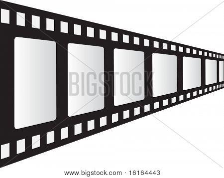 filmstrip raster image of vector