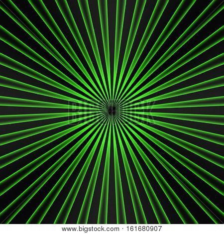 green metal with striped pattern background