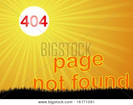 404 error vector illustration