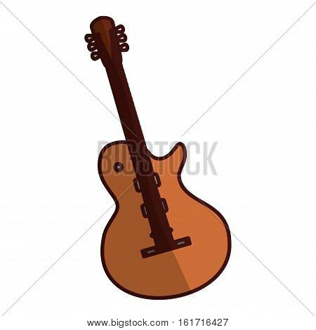 electric guitar icon image vector illustration design