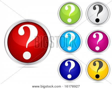 question buttons different colors