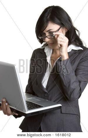Laptop Businesswoman