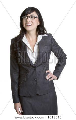 Happy Businesswoman