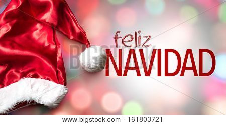 Merry Christmas (in Spanish)