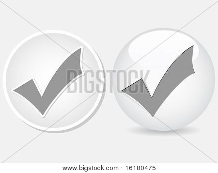 (raster image of vector)   check buttons
