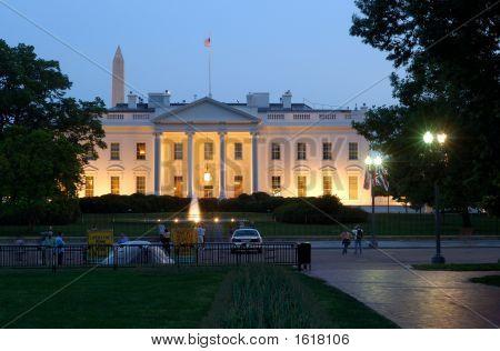 White House At Dusk 2