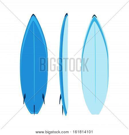 Surfboard Set Vector