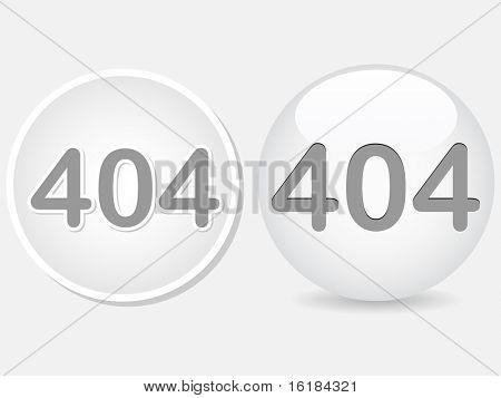 (raster image of vector) 404 error sign