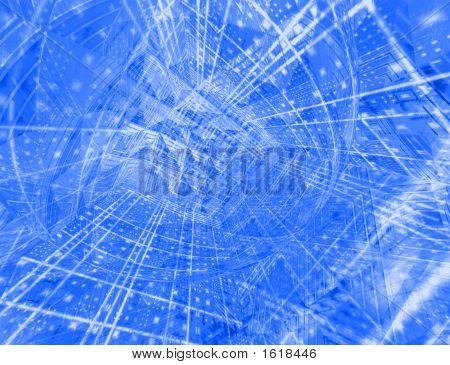 Futuristic Hi-Tech Abstract Background