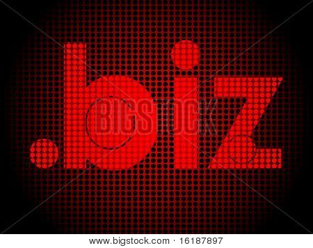 (raster image of vector) business communication
