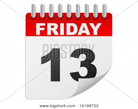 Friday the 13th calendar