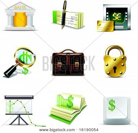 Bank Icons | Bella Series