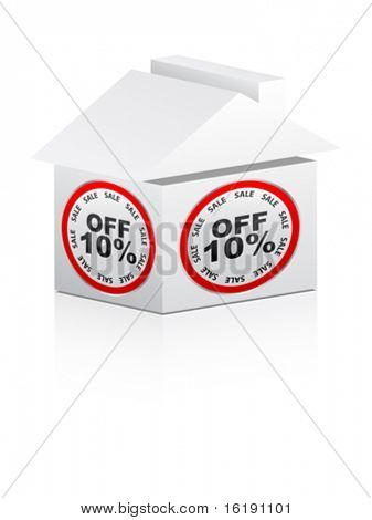 ten percent discount for house
