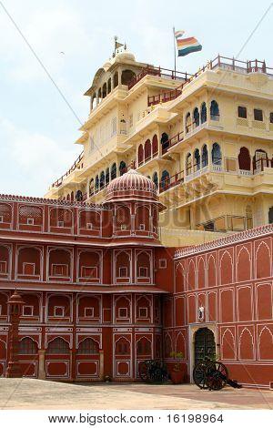 el Palacio de la ciudad ubicado en jaipur india