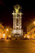 pic of banska  - baroque column of Saint Trinity - JPG