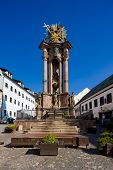 picture of banska  - baroque column of Saint Trinity - JPG