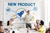 New Product Commerce Launch Promotion Concept poster