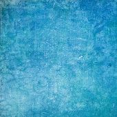 image of blue  - Textured blue background - JPG