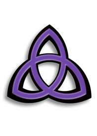 pic of triquetra  - Computer generated image created using X3D and Adobe Photoshop - JPG
