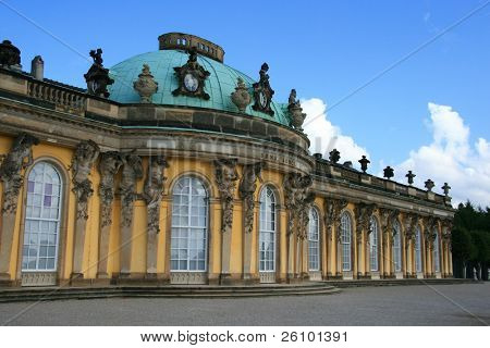 Travel in Germany. Potsdam. Sans Souci