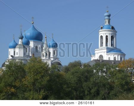Old Orthodoxy Temple Is In Bogolyubovo From Russia