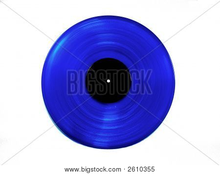 Blue  Vinyl  Lp   Record