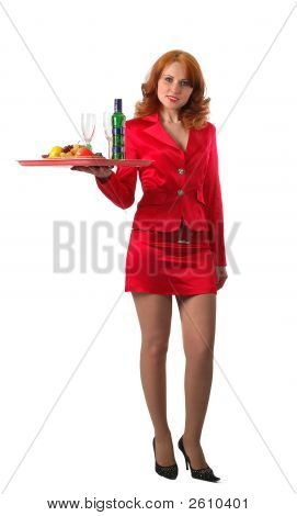 Red Waitress
