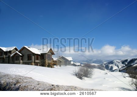 Winter Snow: Rolling Hills