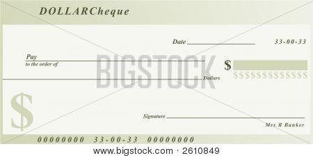 Dólar Cheque