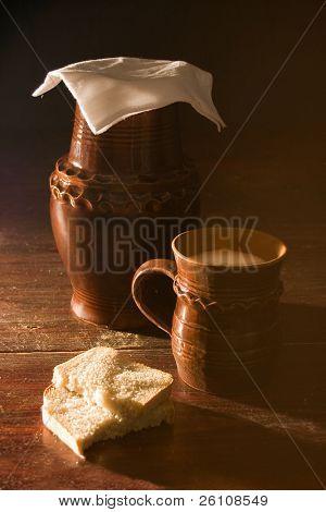 crockery in table