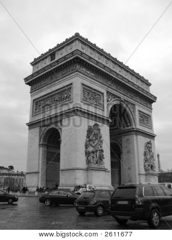 Triump Arch In Paris