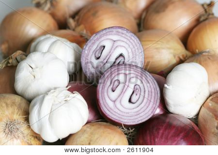 Garlic, Onion
