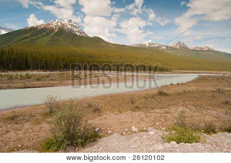 Landscape Of Tundra Wetland